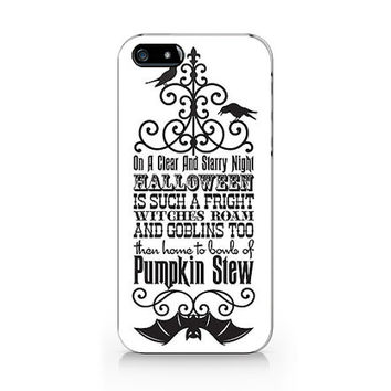 N-536- Halloween Pumpkin Stew for iPhone 4/5/5C/6 case, Samsung galaxy S4/S5/Note3 case
