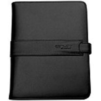 Velocity Micro VM-212 Protective Portfolio Case - 7-inch Cruz Tablets - Leather Exterior - Black