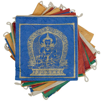 Paper Prayer Flag Five Buddhas