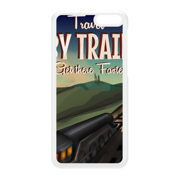 Travel by train White Hard Plastic Case for Amazon Fire Phone by Nick Greenaway