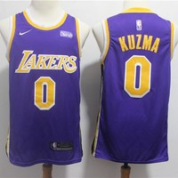 Men's Los Angeles Lakers Kyle Kuzma Nike Purple Swingman Jersey – City Edition - Best Deal Online