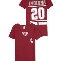 Indiana University Bling V-neck Pocket Tee - PINK - Victoria's Secret
