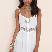 Field Day Dress - Ivory in  Clothes at Nasty Gal