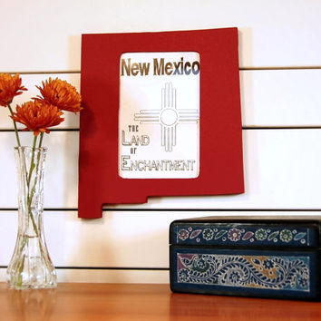 New Mexico picture frame 4x6
