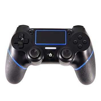 PS4 Controller,J&TOP Wireless Bluetooth Dualshock Gamepad for PlayStation 4,Touch Panel Joypad with Dual Vibration