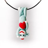 Green Sock Monkey Valentine's Day P.. on Luulla