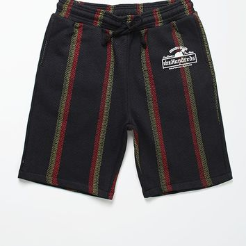 The Hundreds Del Baja Sweatshorts - Mens Shorts - Black