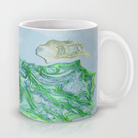 Greens and blues Mug by Lucine | Society6