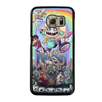 DISNEY STAR VS THE FORCE OF EVIL Samsung Galaxy S6 Case Cover