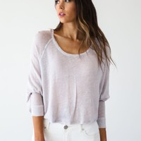 Free People Navy Nashville Tee - Luca + Grae