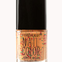 Speckled Pumpkin Nail Polish