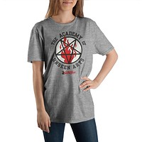 Chilling Adventures of Sabrina Academy of Unseen Arts Crew Neck Short Sleeve T shirt