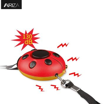 Ariza self defense Personal Alarm with Led Flashlight personal keychain alarm accept customized