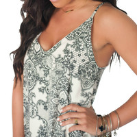 She's All That Lace Print Dress- 2 Colors