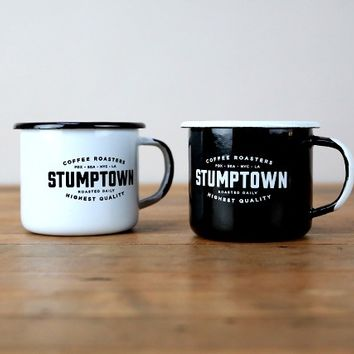 Stumptown Coffee Roasters - Enamel Mug Set