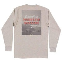 Long Sleeve Endless Weekend Tee by Southern Marsh