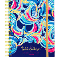 Lilly Pulitzer Large 2016-2017 Agenda- Ocean Jewels