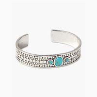 Silver Turquoise Cuff | Lucky Brand
