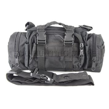 Tactical Camping Hiking Bike Climbing Sport Military Army Travel Waist Pack Hand Carry Pouch Shoulder Bag Tactical Outdoor Bags