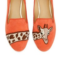 Giraffe Suede Smoking Slipper | Ballets & Flats | Shoes | Categories | C. Wonder