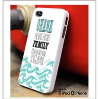 ohana means family lilo and stitch disney Samsung Galaxy S3 S4 S5 Note 3 4 Case, iPhone 4S 5S 5c 6 Plus Case, iPod 4 5 Case
