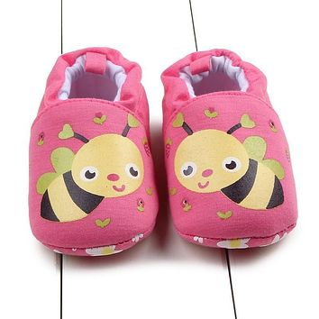 Cute Baby Winter Slipper Winter Baby Boys Girls Warm Plush Booties Infant Indoor Soft Slipper Crib Shoes Baby Cartoon Shoes