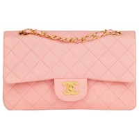 Chanel Quilted Lambskin Small Classic Double Flap Bag
