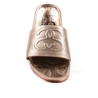 STUSSY WOMEN'S SS LINK SANDALS - ROSE GOLD – PACKER SHOES