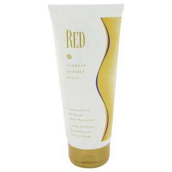 Red By Giorgio Beverly Hills Body Moisturizer 6.7 Oz