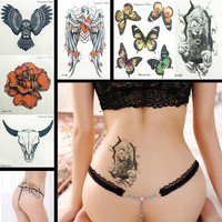 Glitter Face Body Painting Paint Craft Body Art Face & Body Paint Stickers Party Wedding Makeup Removable Tattoo