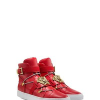 Versace - Palazzo Leather Sneakers