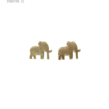 Ladies Strong Character Fashion Animal Earrings [4956861508]