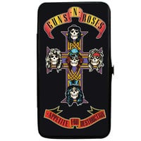 Guns N Roses Women's Appetite For Destruction Cross Girls Wallet