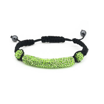 Neon shinning Australia crystal sparkle shamballa bracelets for women