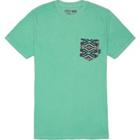 Vans Navateck Pocket T-Shirt - Mens Tee - Green
