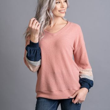 Blissful Days Top in BLUSH