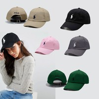 Unisex Cool POLO Embroidered Baseball Cap Hat with 13 colors [2974244204]