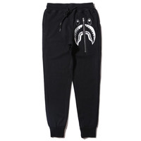 BAPE Thigh Shark Sweatpants