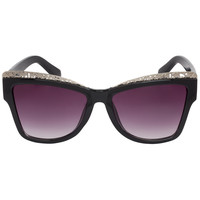 Jungle Babe Sunglasses - Silver