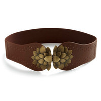 ModCloth Rustic Flora All Time Belt