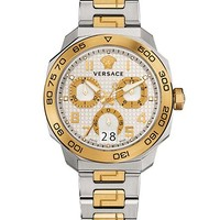Versace - Dylos Chrono gold and steel