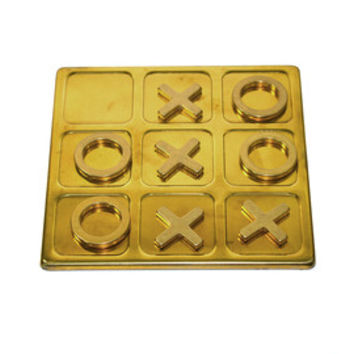 Vintage Brass Tic Tac Toe Game Brass Tic Tac Toe Vintage Board Games Brass Coffee Table Game Table Top Decor