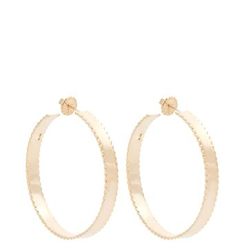 Yellow-gold Lasagne earrings | Alison Lou | MATCHESFASHION.COM UK