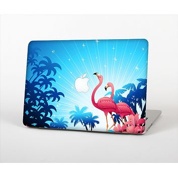 The Vibrant Pelican Scenery Skin Set for the Apple MacBook Air 13""