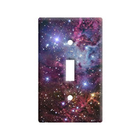 Fox Fur Nebula - Galaxy Stars Space Universe Light Switch Plate Cover