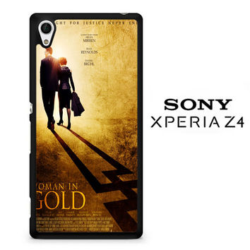 woman in gold poster X0412 Sony Xperia Z4 Case