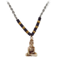 Buddha Hemp and Bone Necklace on Sale for $9.99 at HippieShop.com