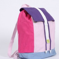 Lazy Oaf Pastel Panel Rucksack - Everything - Categories - Womens