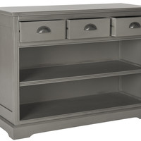 Redig Bookshelf Storage Unit Grey