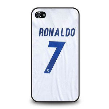 RONALDO CR7 JERSEY REAL MADRID iPhone 4 / 4S Case Cover